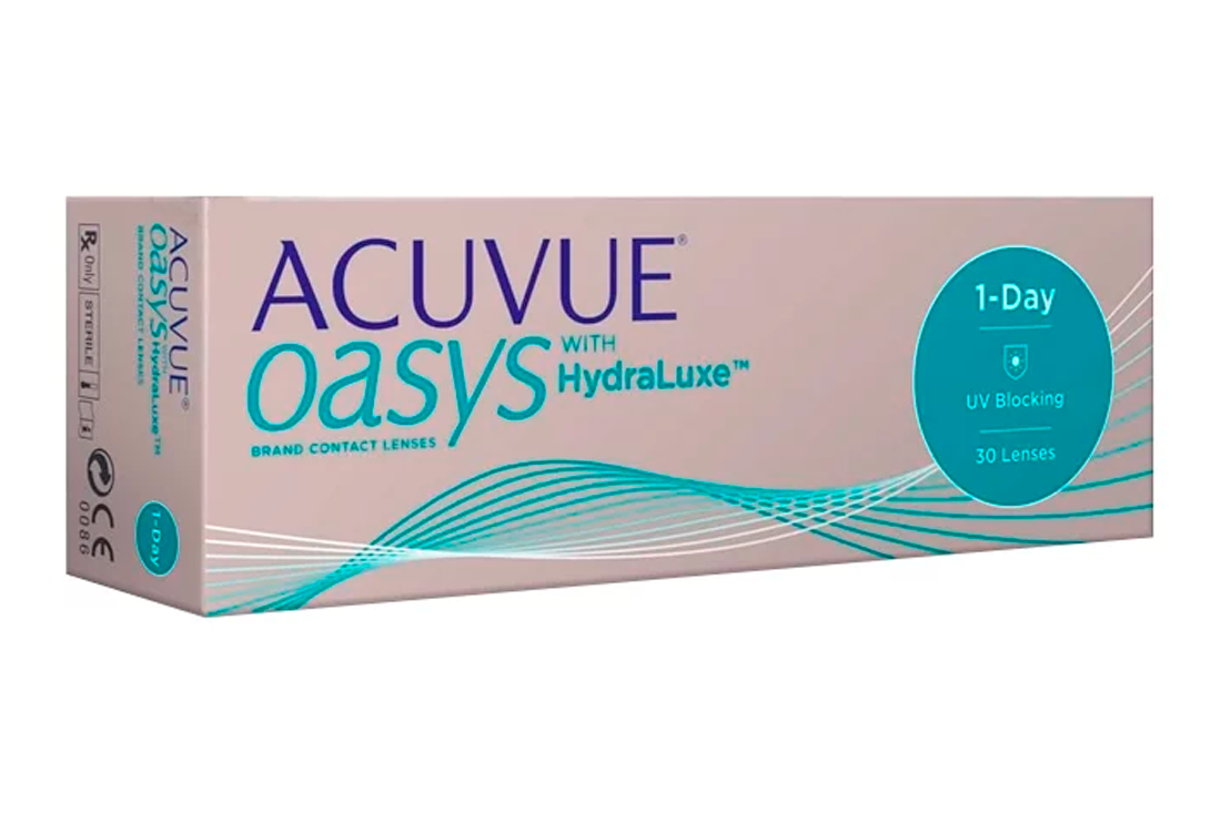 Контактные линзы Johnson & Johnson 1-Day Acuvue Oasys (30)